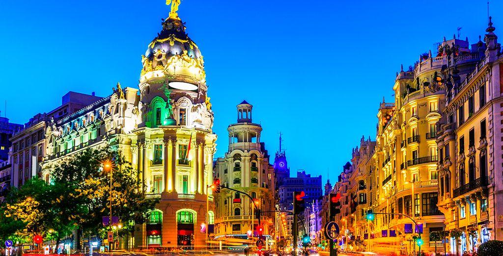 Bienvenido a tu hotel en Madrid
