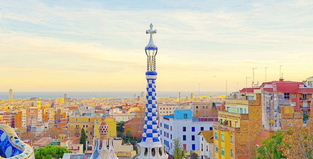 La ciudad de Gaudí te está esperando