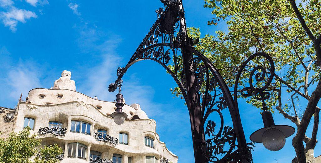 Barcelona es una ciudad moderna, abierta y cosmopolita