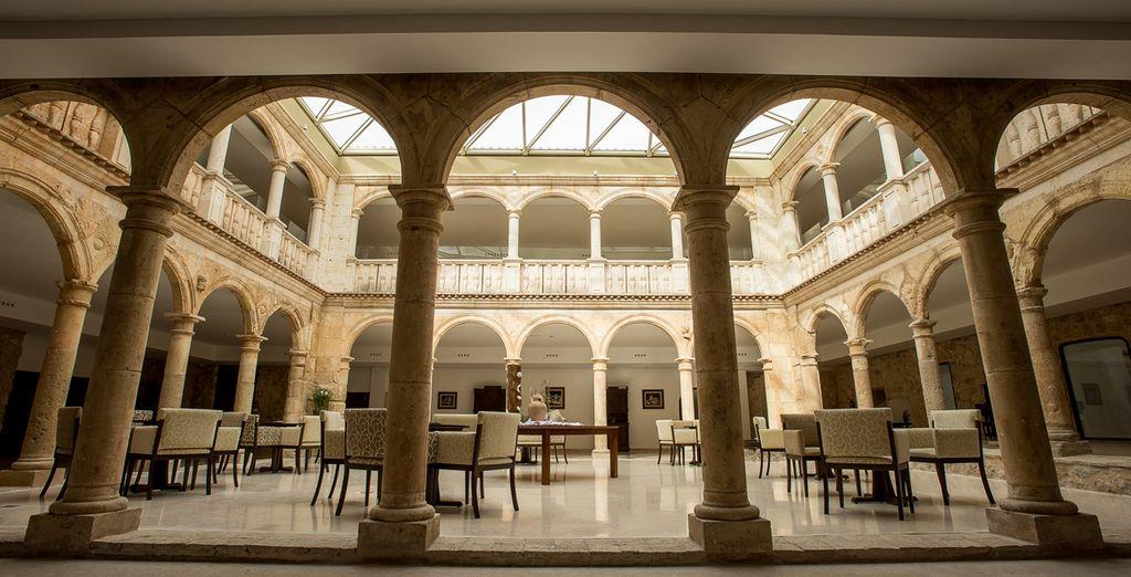 La historia, tradición y modernidad se funden en Palacio del Infante Don Juan Manuel Hotel Spa 4*