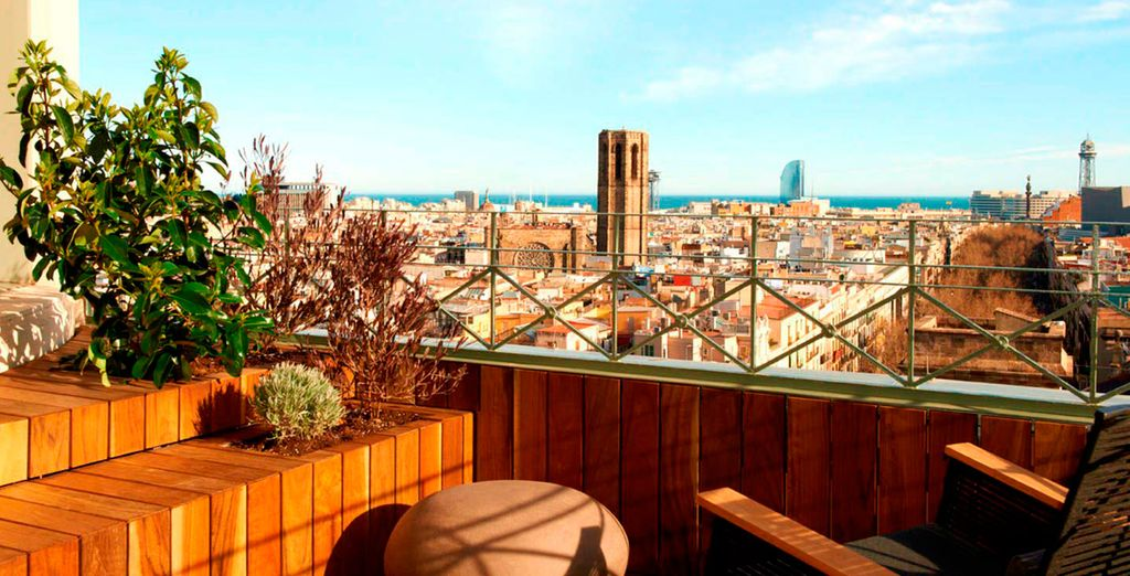 Bienvenido a tu lujosa escapada a Barcelona