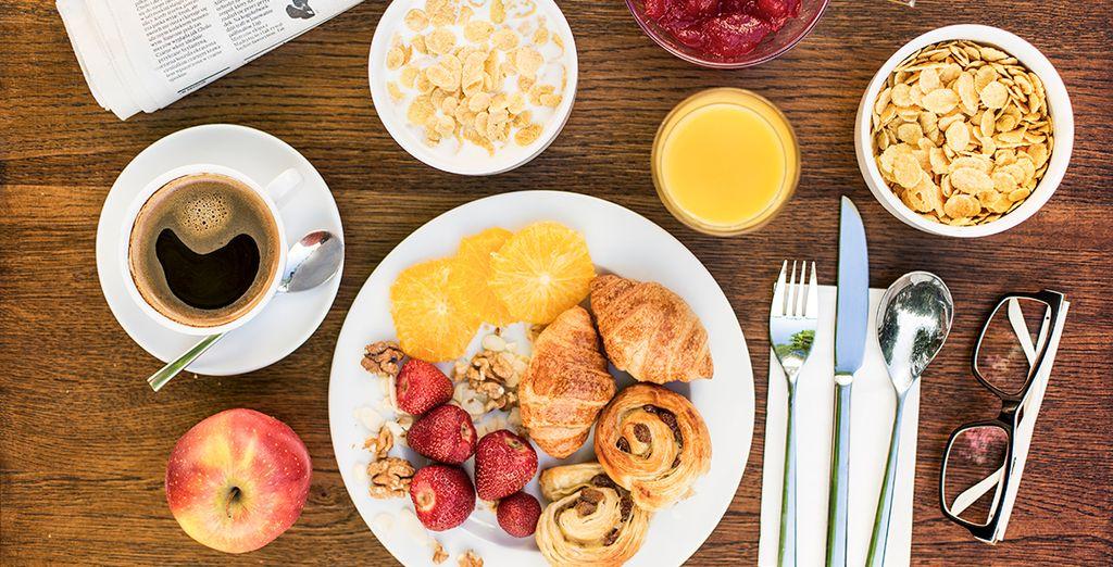 Tienes el desayuno incluido