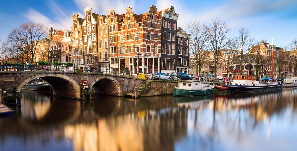 Descubre Ámsterdam, una ciudad a la vanguardia en Europa por sus espectáculos, arte y museos