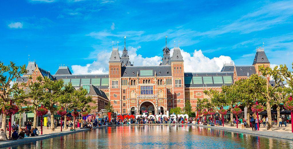 Visita el Rijksmuseum, parada indispensable para los amantes del arte