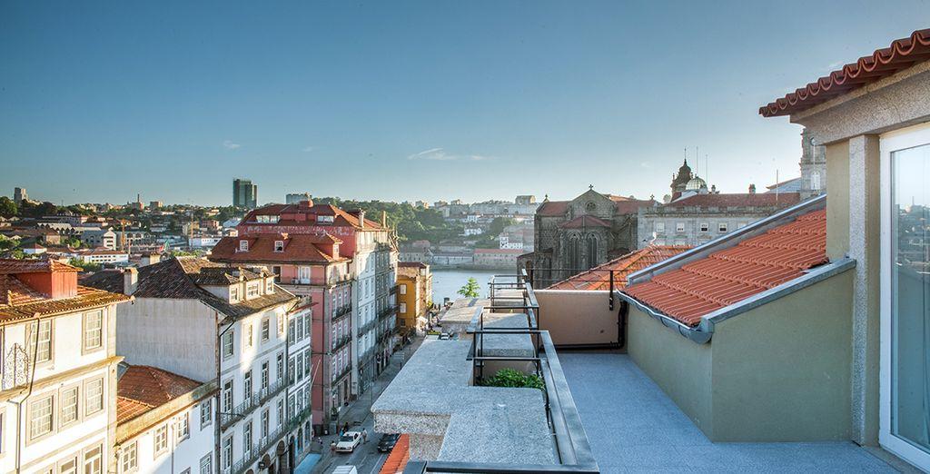 Disfruta de las vistas desde la azotea de tu hotel