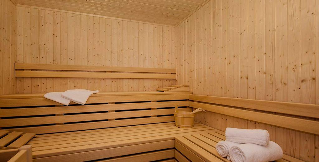 Disfruta de la sauna