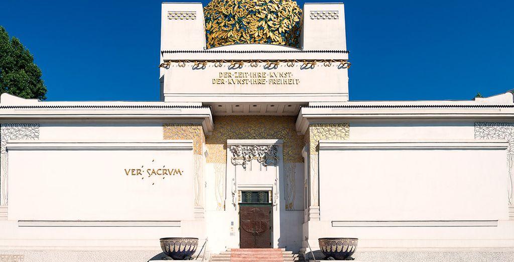 El edificio de la Secesión Vienesa