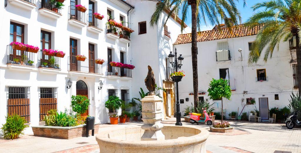 Descubre el encanto típico de Marbella