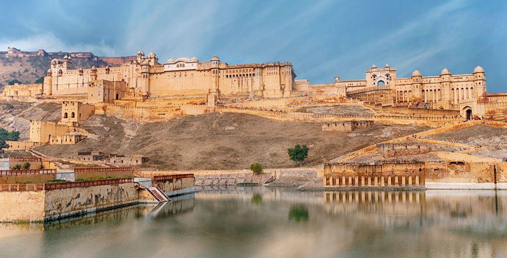 Llegarás a Amber, antigua capital del estado de Rajastán