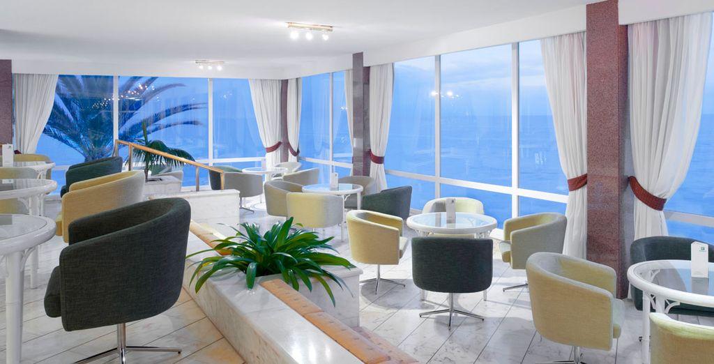 Un hotel con vistas de lujo