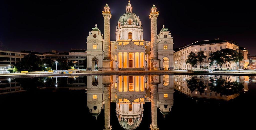 Karlskirche, un templo de gran hermosura