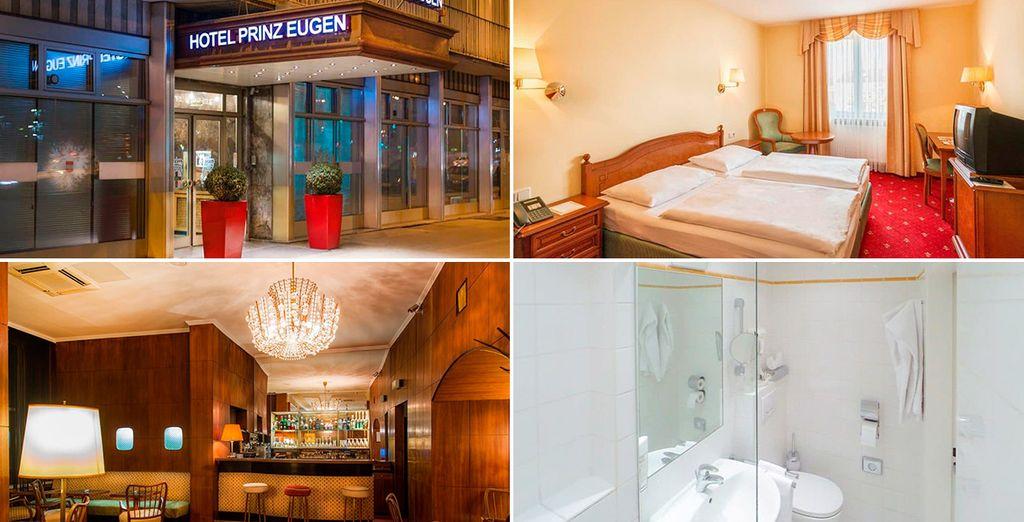 Podrás alojarte en el Hotel Prinz Eugen 4*, Viena