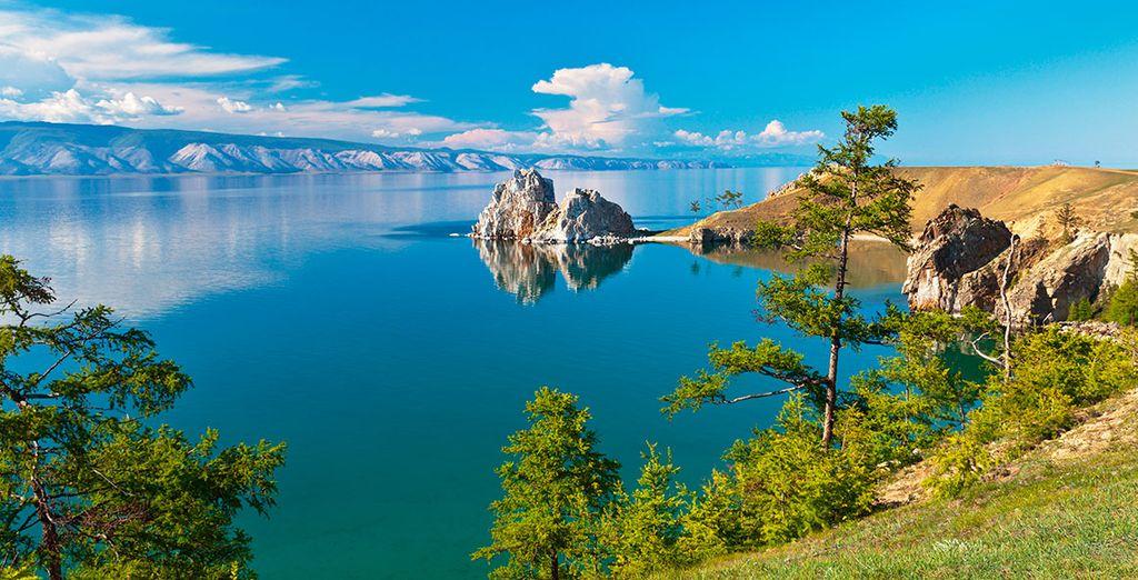 Pasaréis junto al lago Baikal