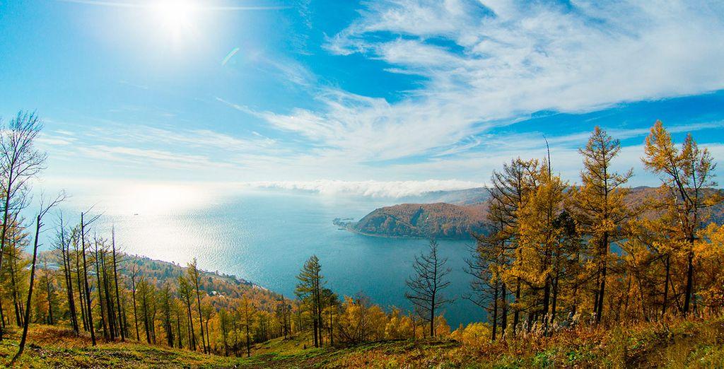 El lago Baikal es el más profundo del mundo