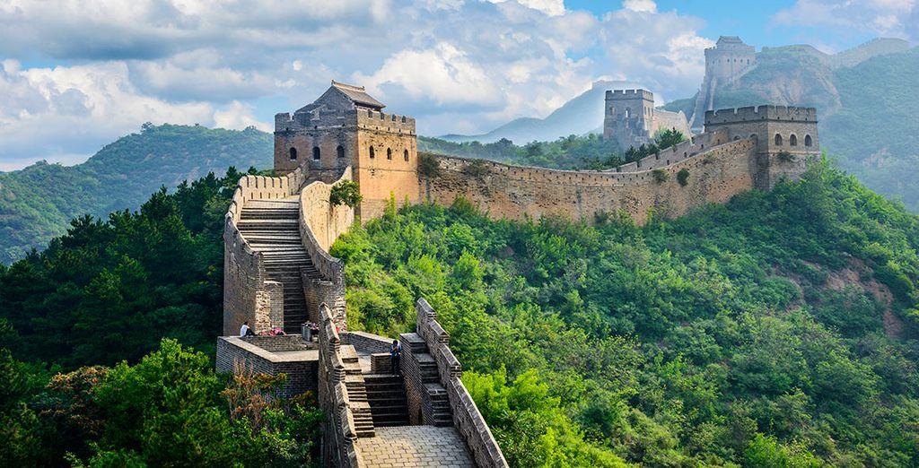 La Gran Muralla os encantará
