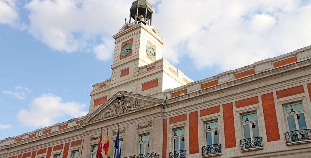 A 200 metros de la mítica Puerta del Sol