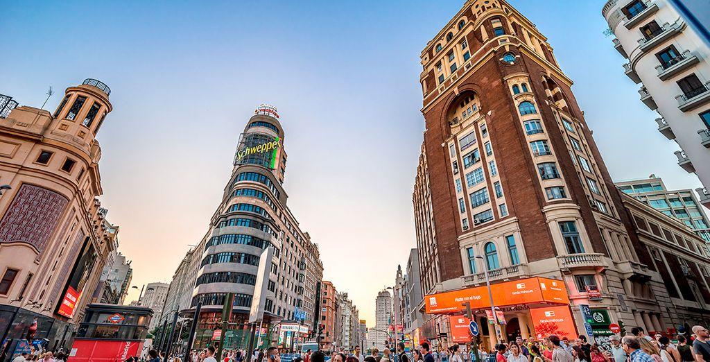 Madrid, una ciudad llena de energía y vitalidad
