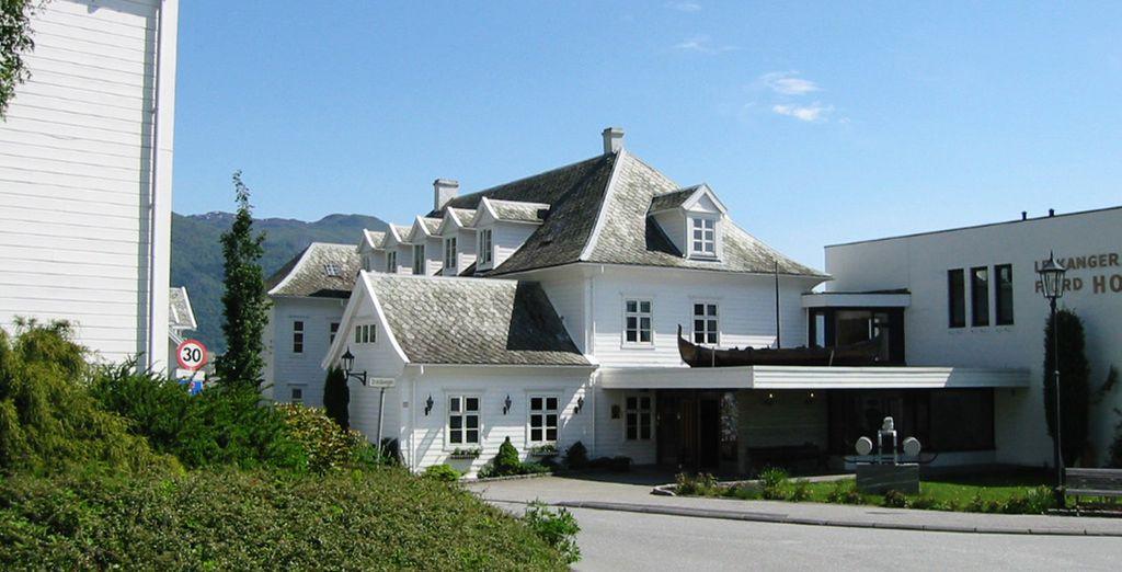 En Leikanger (Área de Sognefjord) te alojarás en el hotel Leikanger Fjord