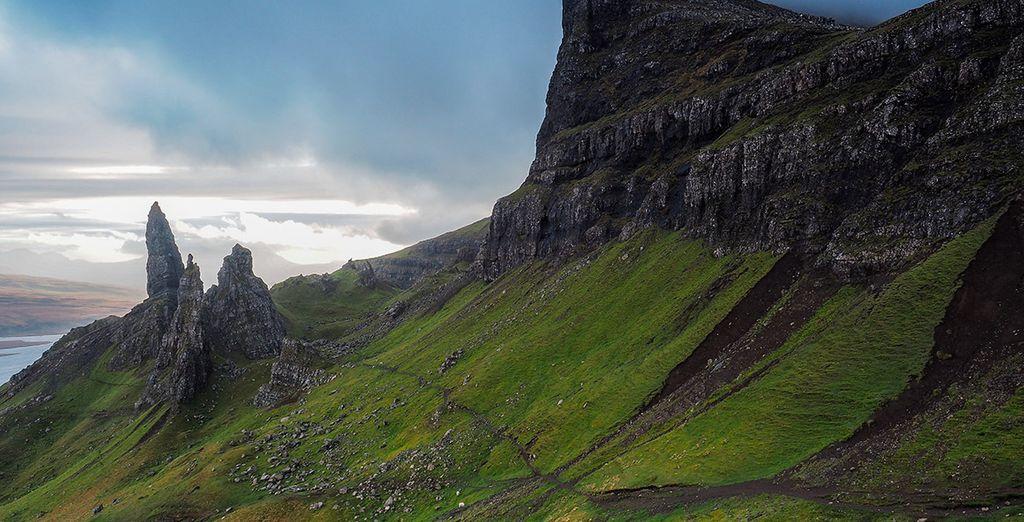 La isla de Skye, un lugar de sublime belleza
