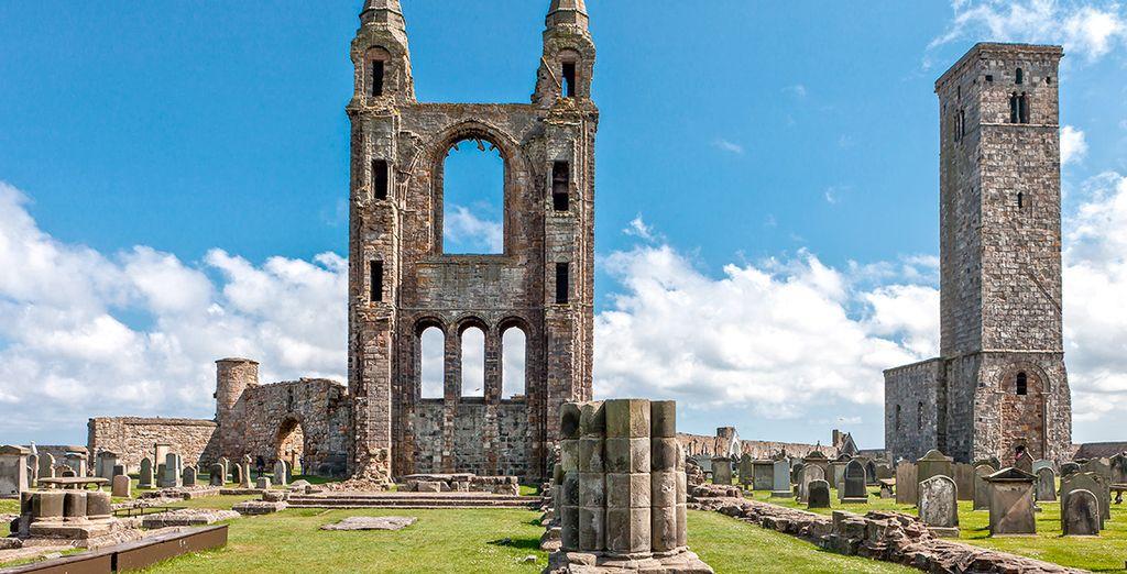 Saint Andrews, una de las excelentes visitas que disfrutarás... ¡Prepara las maletas!