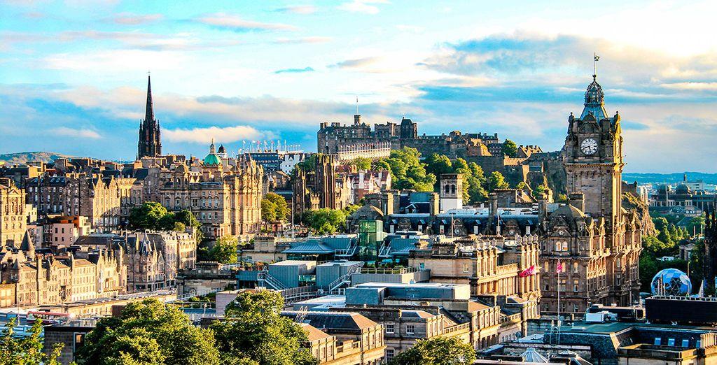 Comienza el itinerario en Edimburgo