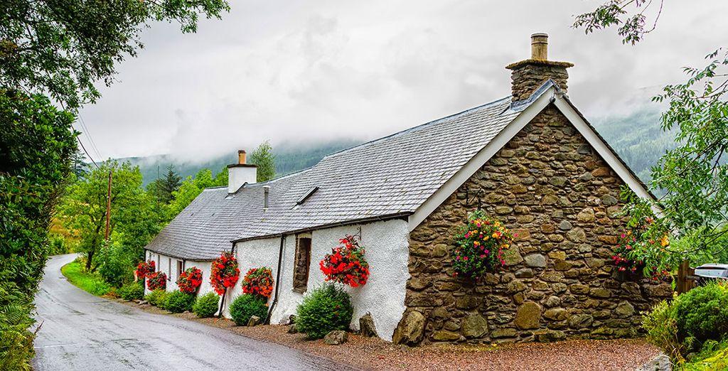 Te encantará su paisaje rural