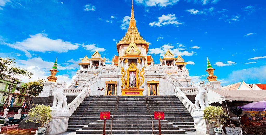 Wat Traimit alberga la figura dorada maciza más grande del mundo