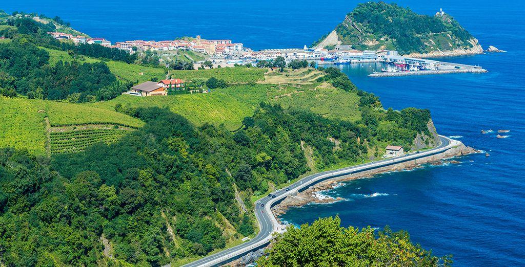 Déjate cautivar por la hermosa costa guipuzcoana: Pasajes, Zarauz o Getaria, son algunas de las hermosas localidades marítimas de alrededor