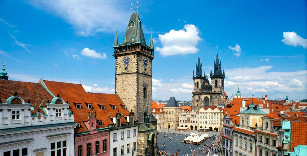 Descubre el precioso casco antiguo de Praga