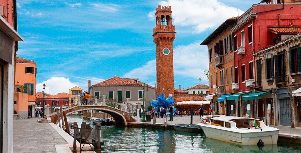 Una estancia que incluye 1 visita a la isla de Murano