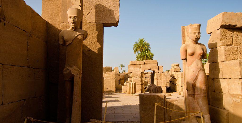 Tendrás la oportunidad de visitar el Valle de los Reyes, el Templo de Luxor