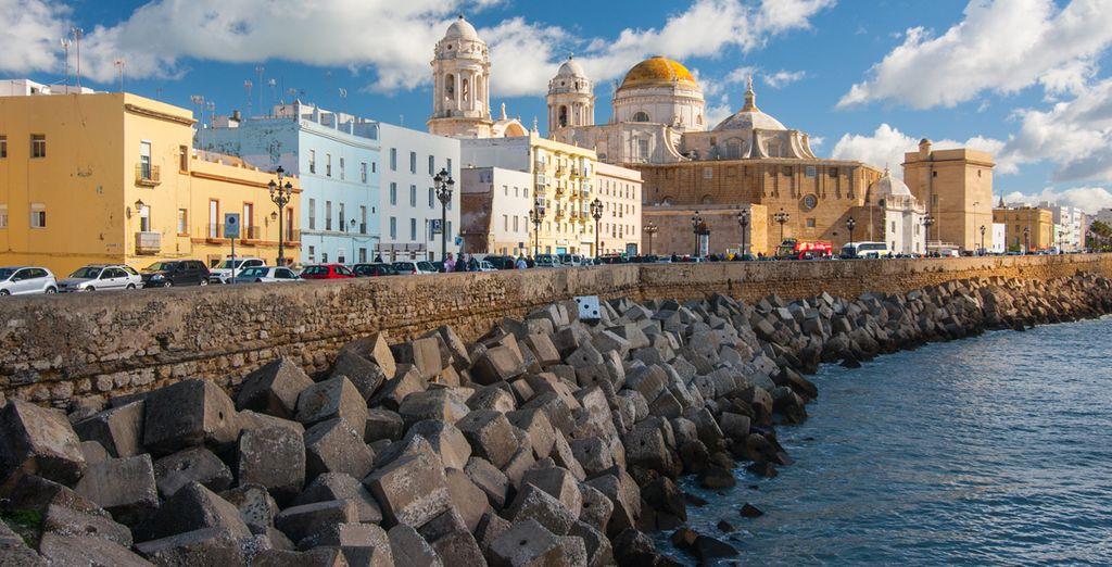 Cádiz, muy cercano
