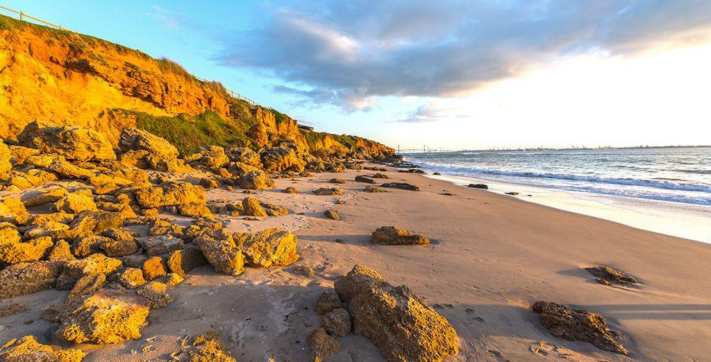 Goza del descanso y colorido de la playa de El Buzo