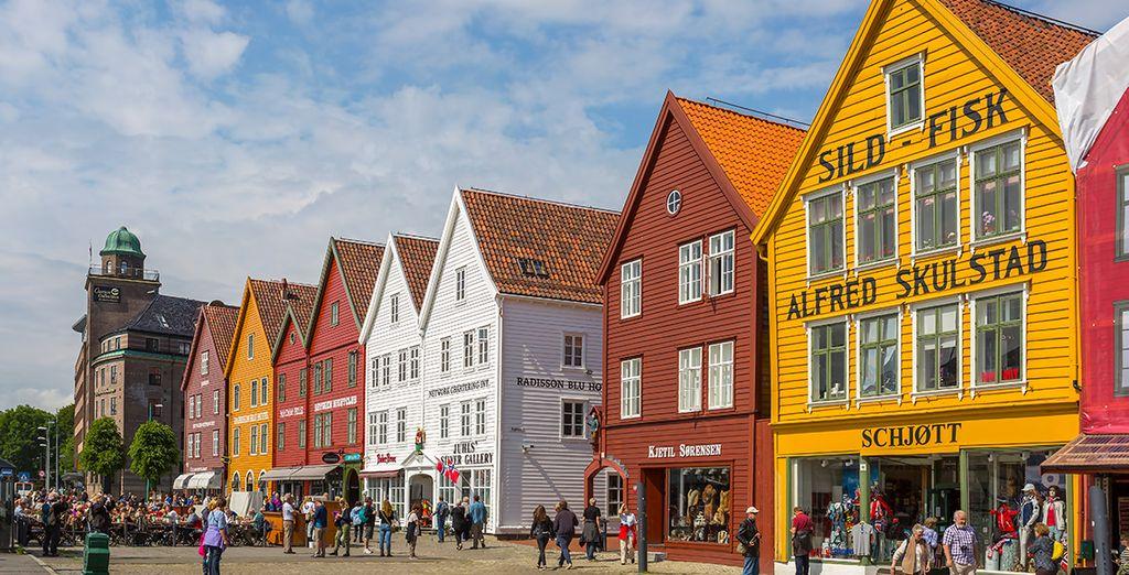 Conoce Bergen, la segunda ciudad más grande de Noruega