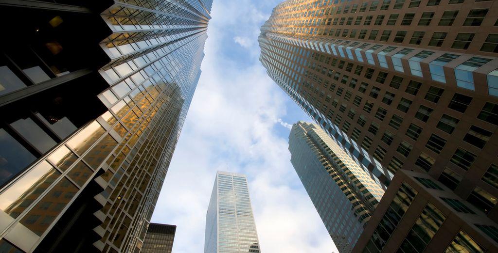 Descubre esta creativa ciudad con un sobresaliente skyline