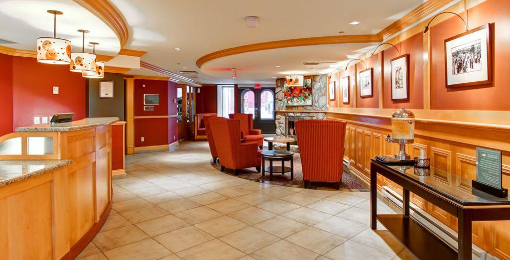 Homewood Suites Hilton Resort 4*, es uno de los hoteles previstos en Mont Tremblant