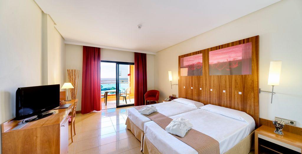 Tu habitación con vistas al mar