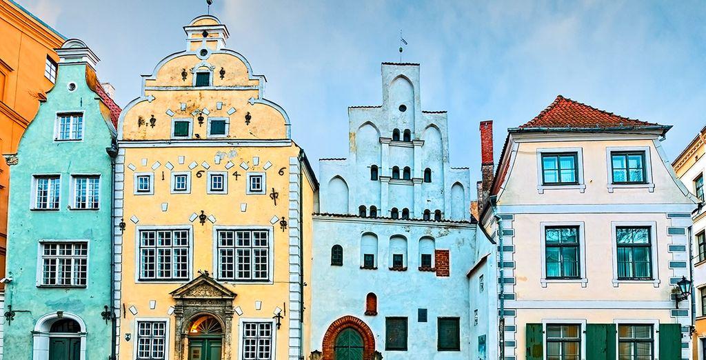Aprovecha y realiza una visita panorámica por la capital letona