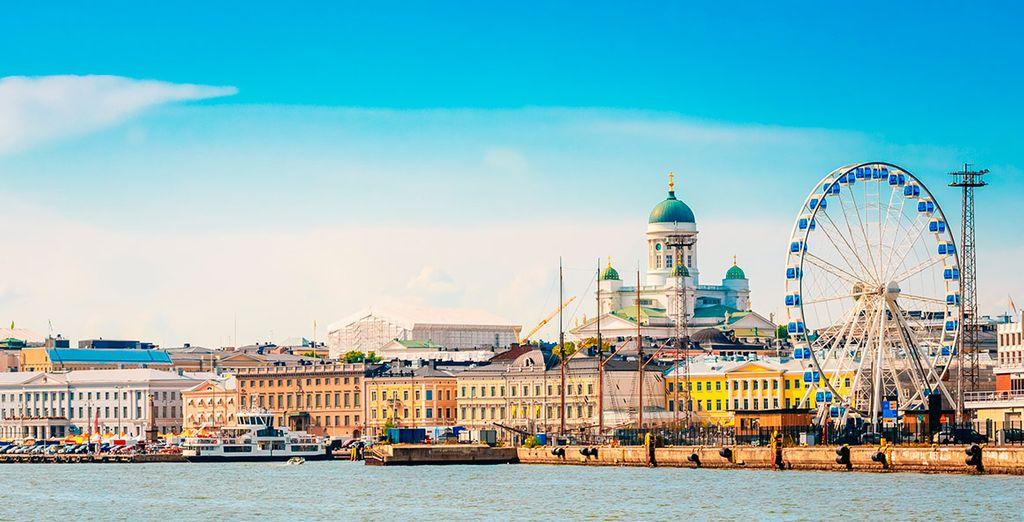 Un recorrido que empieza por la vibrante capital finlandesa, Helsinki