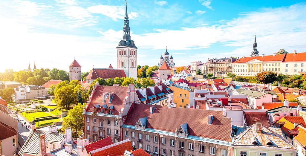 Una travesía por el mar Báltico te llevará hasta Tallin