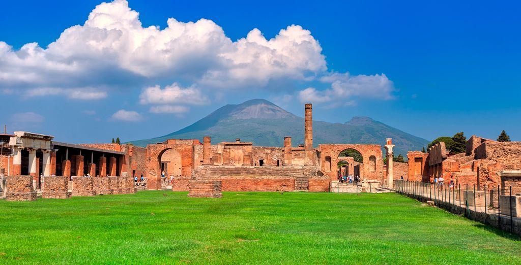 Aprovecha la ocasión y visita Pompeya, una ciudad de la Antigua Roma