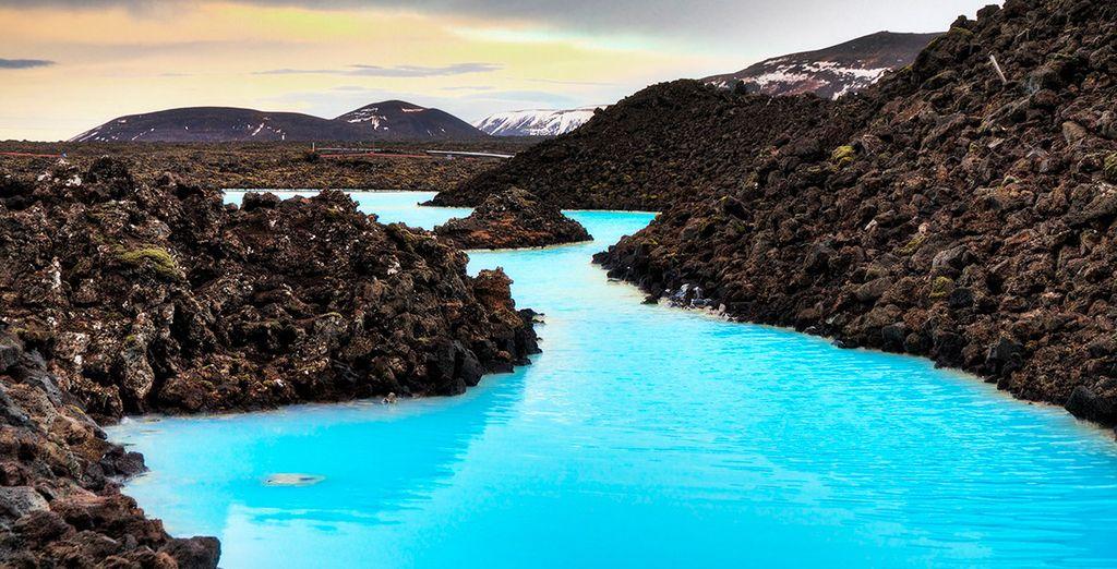 Asómbrate con la Blue Lagoon