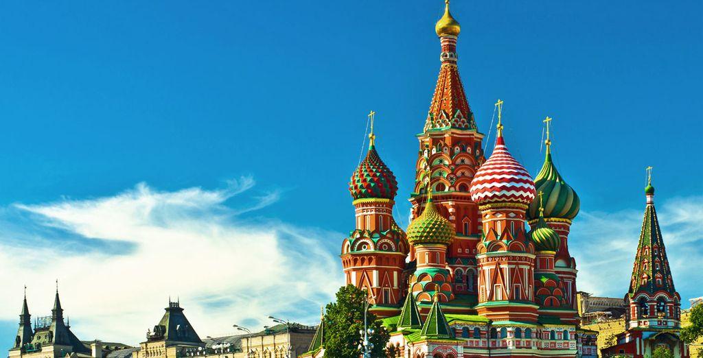 La Catedral de San Basilio, uno de los monumentos más famosos de Rusia