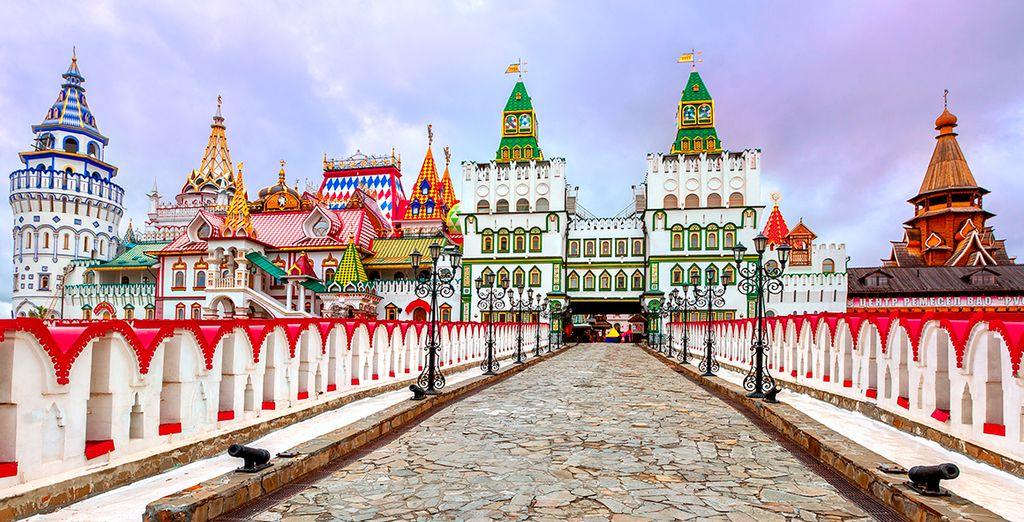 Impresionante Kremlin en Moscú