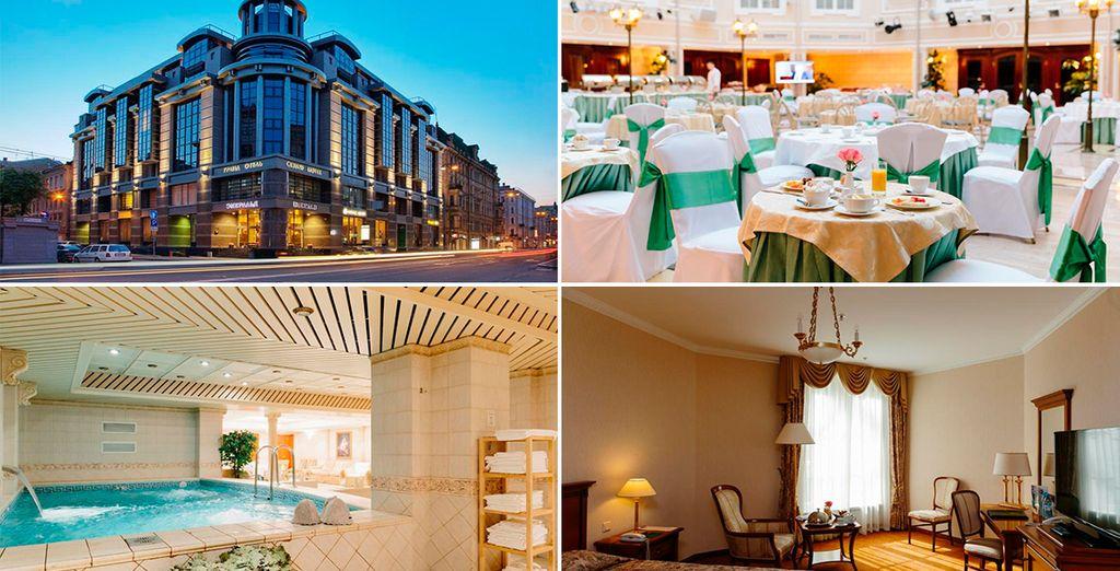 Grand Hotel Emerald 5* te da la bienvenida