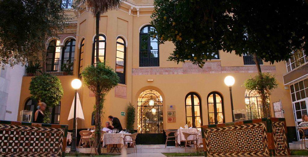 Este hotel surge de la rehabilitación de una casa palacio de 1901