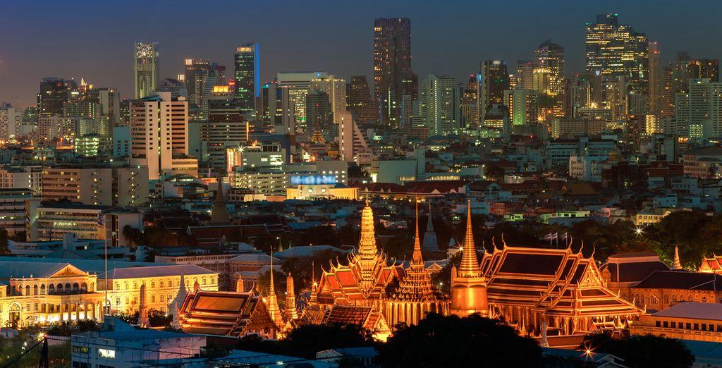 Disfrute de la ciudad mágica de Bangkok