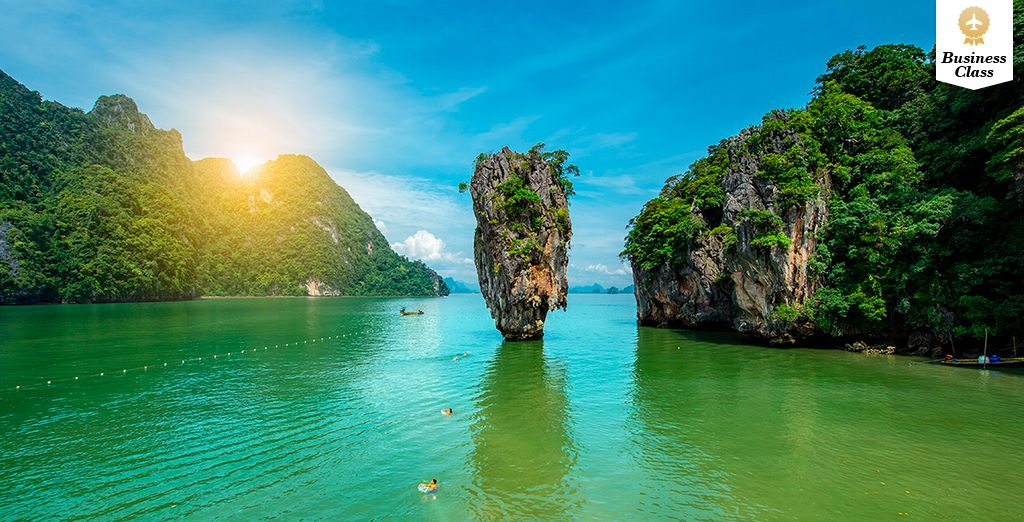 Bienvenido a tu viaje de lujo en Tailandia