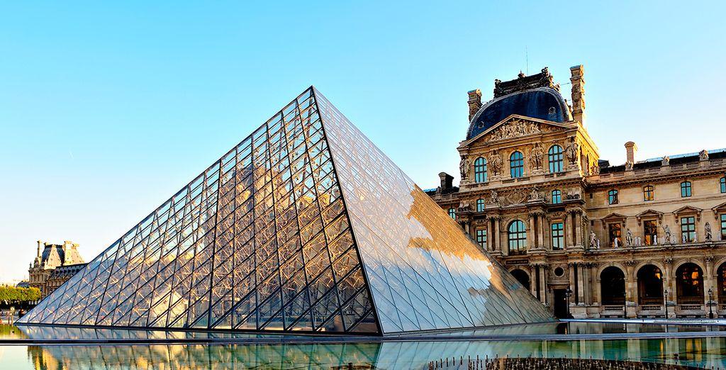 Visita el Louvre y deléitate con la Sonrisa de Mona Lisa