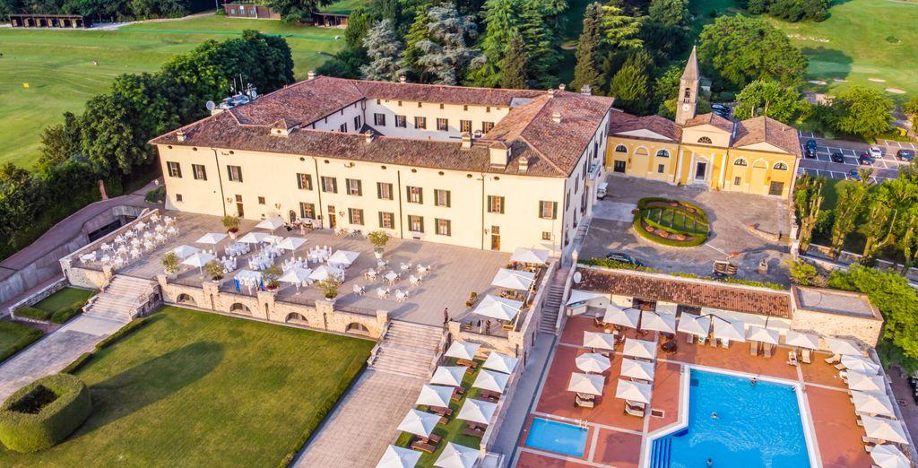 Palazzo Arzaga Hotel Spa y Golf Resort en Calvagese Della Riviera